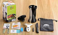EA Kitchen Premium Spiralizer Vegetable Spiral Slicer Cutter Christmas Gift UK