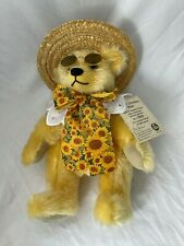 Hermann Limited Edition Summer Sunshine Bear 1953/2000 Mohair with Sunglasses