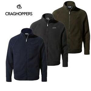 Craghoppers Cason Mens Fleece Jacket Full Zip Up Outdoor Coat Warm