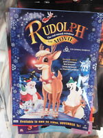 RUDOLPH THE MOVIE 1 SHEET AUST  VIDEO VERSION MOVIE POSTER