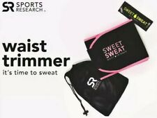 Sweet Sweat Premium Waist Trimmer for Men & Women Sports Workout Blackgirdles XL