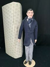 Gone With The Wind Franklin Mint Heirloom Doll Porcelain Rhett Butler