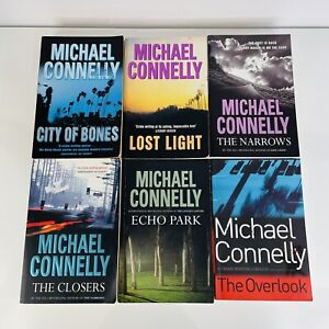 Michael Connelly Detective Harry Bosch Series Books 8 - 13 Crime Murder Police