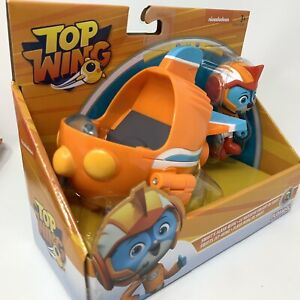 Nick Jr Top Wings Swift's Flash Wing vehicle & figure *NEW* Age 3 + has mark on