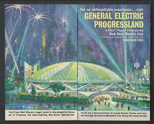 Disney's Carousel of Progress 1964 NY World's Fair Attraction AD GE Progressland