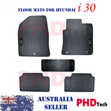 Hyundai i30 2017-onwards Tailor Made All Weather Rubber Car Floor Mats 5 pic Set