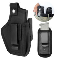 Tactical Concealed Carry OWB IWB Hand Gun Pistol Holster with Magazine Mag Pouch