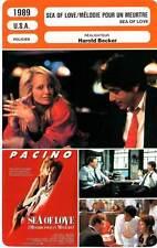 FICHE CINEMA : SEA OF LOVE - Pacino,Barkin,Becker 1989 Mélodie Pour Un Meurtre