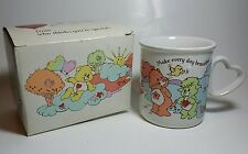 Vintage Care Bears Mug Cup Stoneware 1985 Care Bear Cousins American Greetings