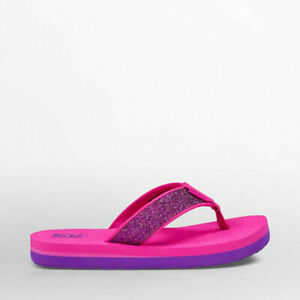 Teva Kids' Y Mush II Flip-Flop Colour  ( Pink / Sparkle )