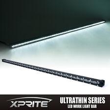 "Xprite 240W 50"" C6 Series LED Spot Work Light Bar Ultra Thin Single Row Off-road"