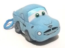 "Disney Pixar Cars Finn McMissile Plush Stuffed Toy Clip On, 3.75"""