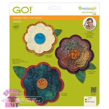 Accuquilt GO! Fabric Cutting Die Rose of Sharon 2 by Sharon Pederson 55382