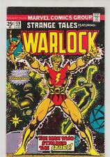 STRANGE TALES #178 LOT OF 3 COPIES ALL SIGNED BY STARLIN AVG GRADE VG/FN 1975