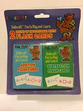 New Listing68 Pieces Total Math Flash Cards for Addition And Subtraction Operations PreK-3