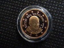 VATICANO euro 2006 MONETA CENT 1 eurocent FONDO a SPECCHIO PROOF FS PP BE