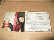 Olivier Messiaen  Hans Ola Ericsson 2 cd 1995 Excellent Condition