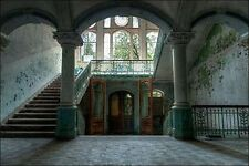 Ivo Sneeuw: Beelitz Sanatorium Keilrahmen-Bild Leinwand Interieur lost places