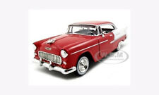 1955 CHEVROLET BEL AIR RED 1:24 DIECAST MODEL CAR BY MOTORMAX 73229
