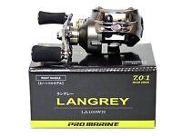** PRO MARINE Langley LA100WN High Gear 7.0:1 Right hand Baitcasting Reels