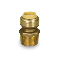 """1"""" SHARKBITE STYLE PUSH FIT REDUCING 3/4 MALE THREADED ADAPTERS"""
