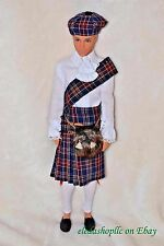 GAW 2017 GRANT A WISH CONVENTION SCOTTISH KEN BARBIE SOUVENIR DOLL