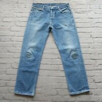 Vintage Levis 501 XX Denim Jeans Made in USA Medium Wash 501-0000 501XX