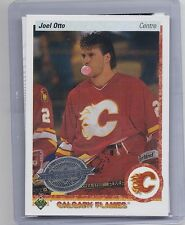 10-11 2010-11 UPPER DECK JOEL OTTO 20TH ANNIVERSARY FRENCH BUYBACK 141 FLAMES