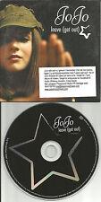 JOJO JO JO Leave EDIT & HIP HOP & DANCE MIIXES Europe PROMO CD single USA seller