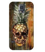 Coque Galaxy S5 Mort Ananas effet Bois vintage tropical