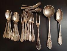 Ménagère - série de couverts - métal argenté - Poinçon - acanthes