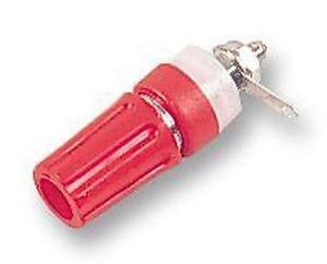 Connettori - Prova - Rilegatura Posta 15A 4MM Pannello Rosso