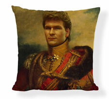 Patrick Swayze cushion cover, Dirty Dancing, portrait, gift