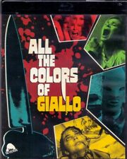 All the Colors of Giallo Blu-Ray DVD & CD Severin Gialli Documentary Colours