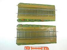 at484-1 #2x Märklin voie 1 blech-rampe pour Pont / PONT treillis/