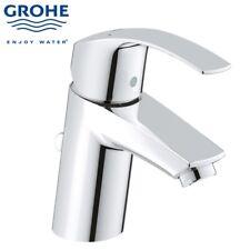 GROHE EUROSMART NEW MODERN MONO BASIN BATH BATHROOM MIXER TAP WITH POP UP WASTE