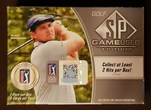 2021 Upper Deck SP Game used edition Golf Hobby box - factory sealed