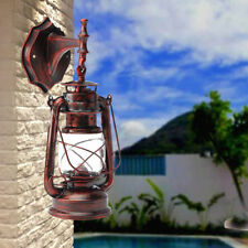 New listing Retro Antique Vintage Rustic Lantern Outdoor Lamp Wall Sconce Light Fixture E27