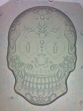 Flexible Mold Sugar Skull Day Of The Dead Resin or Chocolate Mould