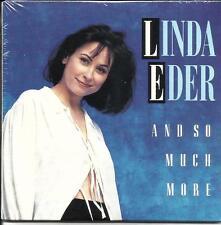 LINDA EDER And So Much More RARE 3TRK SAMPLER PROMO Radio DJ CD Single SEALED