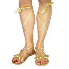 Roman/Goddess Golden Sandals, Greek Goods, Shakespeare, Theatre, Panto 22950