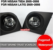 Auto Fog Lamp For Nissan TIIDA / LATIO 2005~2008 ON  / With Frame ,Switch ,Cable