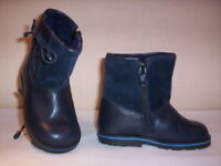 Scarpe stivali stivaletti vintage Cipì neonato bimbo bimba primi passi blu 19 21