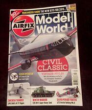 Airfix Model World Apr 2015 50+ Reviews Vicker Vanguard Nuremberg Show FREE SHIP