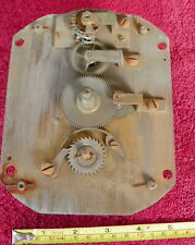 VINTAGE LARGE FKT 1533 8 DAY GERMAN CLOCK MOVEMENT PLATFORM ESCAPEMENT NO RUN