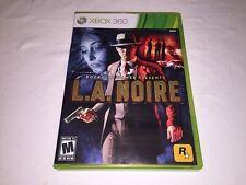 L.A. Noire (Microsoft Xbox 360) Original Release Complete Vr Nice!