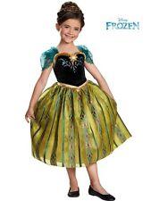 Anna Costume Medium 7/8 Girls Frozen Anna Costume DELUXE Disney Frozen NEW