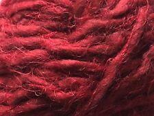 Anny Blatt Nanook #1149 Pompadour - Burgundy Alpaca Wool Nylon Yarn 50 gr 49 yds