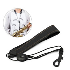Adjustable saxophone strap neck sling for alto tenor clarinet with hook clasp  I