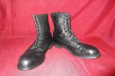 Military Boots 13R Wolverine Black Leather Steel Toe 1992 Men Boys Work Hunt 159